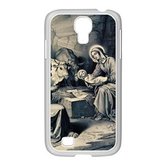 The Birth Of Christ Samsung Galaxy S4 I9500/ I9505 Case (white) by Valentinaart