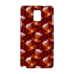 Christmas Pattern Samsung Galaxy Note 4 Hardshell Case by tarastyle
