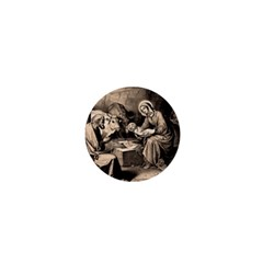 The Birth Of Christ 1  Mini Buttons by Valentinaart