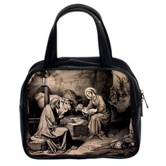The Birth Of Christ Classic Handbags (2 Sides) by Valentinaart