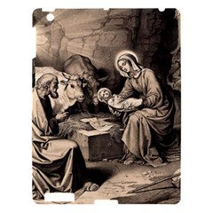 The Birth Of Christ Apple Ipad 3/4 Hardshell Case by Valentinaart