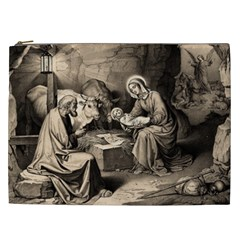The Birth Of Christ Cosmetic Bag (xxl)  by Valentinaart