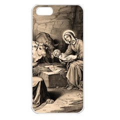 The Birth Of Christ Apple Iphone 5 Seamless Case (white)