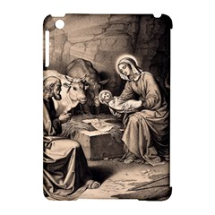 The Birth Of Christ Apple Ipad Mini Hardshell Case (compatible With Smart Cover) by Valentinaart