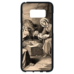 The Birth Of Christ Samsung Galaxy S8 Black Seamless Case by Valentinaart