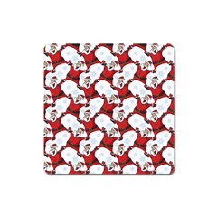 Christmas Pattern Square Magnet by tarastyle