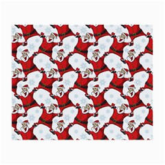 Christmas Pattern Small Glasses Cloth (2 Side) by tarastyle