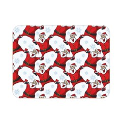 Christmas Pattern Double Sided Flano Blanket (mini)  by tarastyle