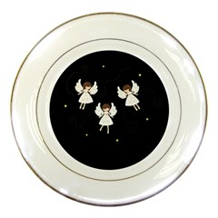 Christmas Angels  Porcelain Plates by Valentinaart