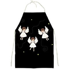 Christmas Angels  Full Print Aprons by Valentinaart