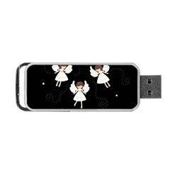 Christmas Angels  Portable Usb Flash (two Sides) by Valentinaart
