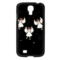 Christmas Angels  Samsung Galaxy S4 I9500/ I9505 Case (black) by Valentinaart