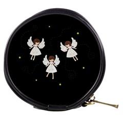 Christmas Angels  Mini Makeup Bags by Valentinaart
