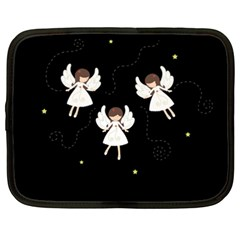 Christmas Angels  Netbook Case (xxl)  by Valentinaart