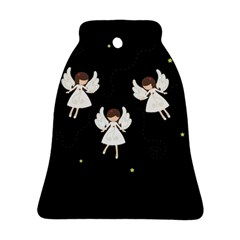 Christmas Angels  Bell Ornament (two Sides) by Valentinaart
