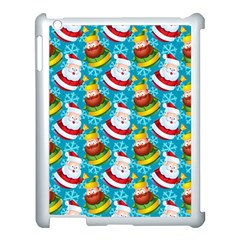 Christmas Pattern Apple Ipad 3/4 Case (white) by tarastyle