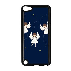 Christmas Angels  Apple Ipod Touch 5 Case (black) by Valentinaart