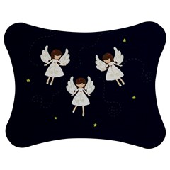 Christmas Angels  Jigsaw Puzzle Photo Stand (bow) by Valentinaart