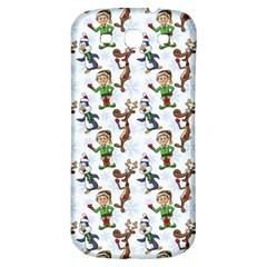 Christmas Pattern Samsung Galaxy S3 S Iii Classic Hardshell Back Case by tarastyle
