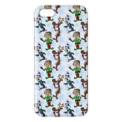 Christmas Pattern Apple Iphone 5 Premium Hardshell Case by tarastyle