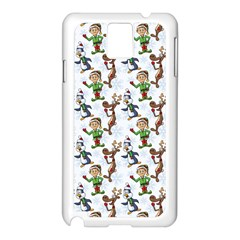 Christmas Pattern Samsung Galaxy Note 3 N9005 Case (white) by tarastyle