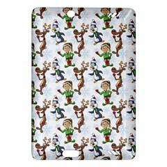 Christmas Pattern Amazon Kindle Fire Hd (2013) Hardshell Case by tarastyle