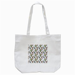 Christmas Pattern Tote Bag (white) by tarastyle