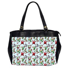 Christmas Pattern Office Handbags (2 Sides)  by tarastyle
