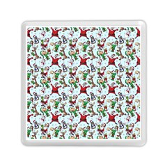 Christmas Pattern Memory Card Reader (square)  by tarastyle