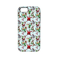 Christmas Pattern Apple Iphone 5 Classic Hardshell Case (pc+silicone) by tarastyle