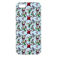 Christmas Pattern Apple Iphone 5 Premium Hardshell Case by tarastyle