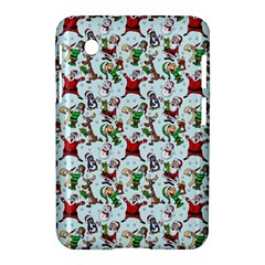 Christmas Pattern Samsung Galaxy Tab 2 (7 ) P3100 Hardshell Case  by tarastyle
