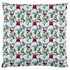 Christmas Pattern Standard Flano Cushion Case (one Side) by tarastyle