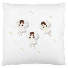 Christmas Angels  Standard Flano Cushion Case (one Side) by Valentinaart