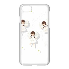 Christmas Angels  Apple Iphone 8 Seamless Case (white) by Valentinaart