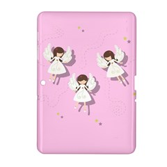 Christmas Angels  Samsung Galaxy Tab 2 (10 1 ) P5100 Hardshell Case  by Valentinaart