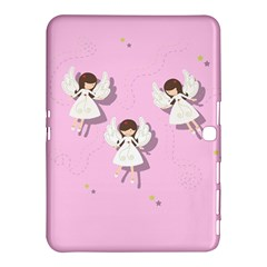 Christmas Angels  Samsung Galaxy Tab 4 (10 1 ) Hardshell Case  by Valentinaart