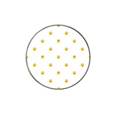 Happy Sun Motif Kids Seamless Pattern Hat Clip Ball Marker by dflcprintsclothing