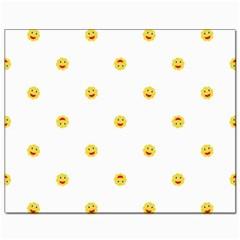 Happy Sun Motif Kids Seamless Pattern Canvas 8  X 10  by dflcprintsclothing