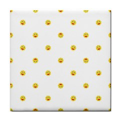 Happy Sun Motif Kids Seamless Pattern Face Towel by dflcprintsclothing
