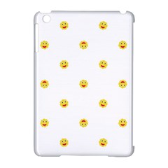 Happy Sun Motif Kids Seamless Pattern Apple Ipad Mini Hardshell Case (compatible With Smart Cover) by dflcprintsclothing