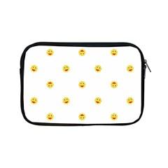 Happy Sun Motif Kids Seamless Pattern Apple Ipad Mini Zipper Cases by dflcprintsclothing