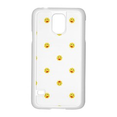 Happy Sun Motif Kids Seamless Pattern Samsung Galaxy S5 Case (white) by dflcprintsclothing