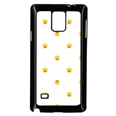 Happy Sun Motif Kids Seamless Pattern Samsung Galaxy Note 4 Case (black) by dflcprintsclothing