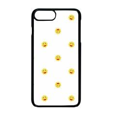 Happy Sun Motif Kids Seamless Pattern Apple Iphone 7 Plus Seamless Case (black) by dflcprintsclothing