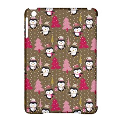 Christmas Pattern Apple Ipad Mini Hardshell Case (compatible With Smart Cover) by tarastyle