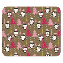 Christmas Pattern Double Sided Flano Blanket (small)  by tarastyle