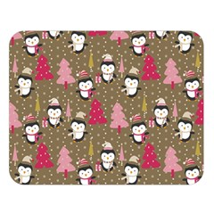 Christmas Pattern Double Sided Flano Blanket (large)  by tarastyle