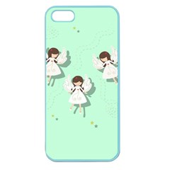 Christmas Angels  Apple Seamless Iphone 5 Case (color) by Valentinaart