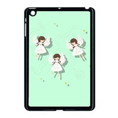 Christmas Angels  Apple Ipad Mini Case (black) by Valentinaart